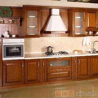 珊嘉橱柜实木面板:塞维斯(不含台面)1