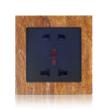 博顿 G9天然大理石多功能五孔插座