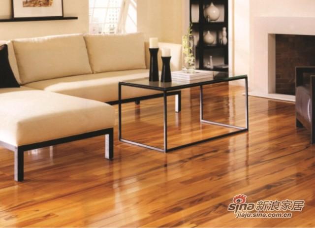 安信实木地板斑纹漆木-0
