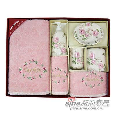 多样屋 TAYOHYA 花园玫瑰系列 卫浴大组套-粉-0