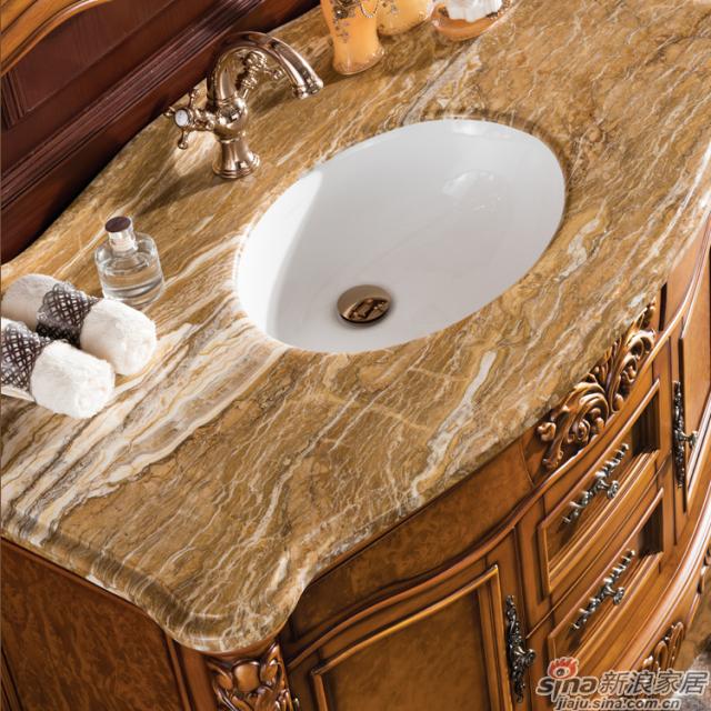 阿洛尼浴室柜-欧式仿古柜-A1145-1