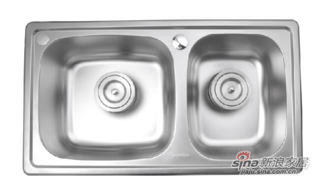 九牧卫浴厨房水槽套餐-2