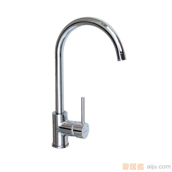 GORLDE(节水型)单把单孔厨房水槽/洗菜池龙头XDD/195YZJ1