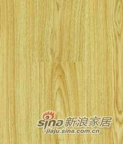 """欧龙地板""""明""""系列强化地板-M006直纹柚木-0"""