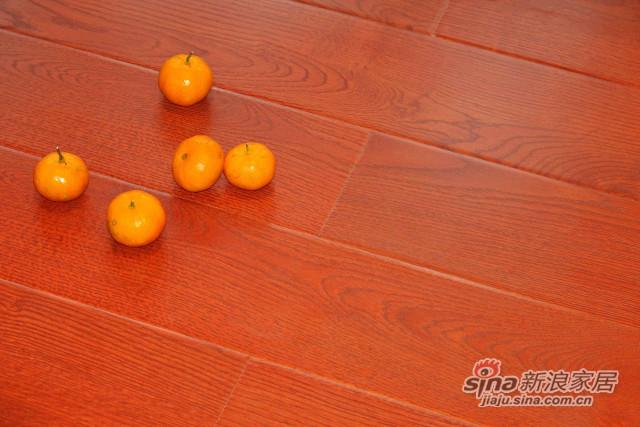 林昌地板--12系列仿古拉丝--万马奔腾EOL1202-0