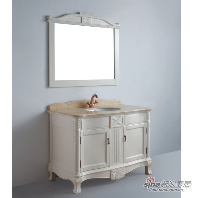 法恩莎卫浴实木浴室柜FPGM4606-K-0