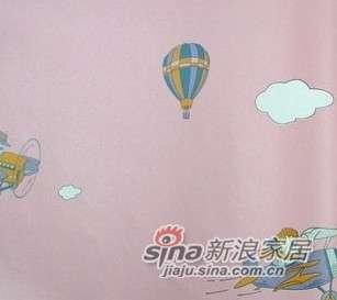 优阁壁纸气球儿童房环保墙纸灵动系列ld8172 -0