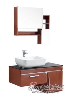 安华卫浴多层板浴室柜anPGD43008-C