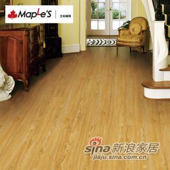 北美枫情地板 复合地板-0