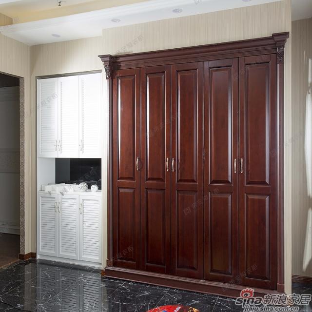 耶路撒冷-赤杨原木衣柜-1