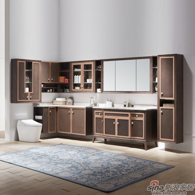 阿洛尼浴室柜-骑士A1642超级组合柜