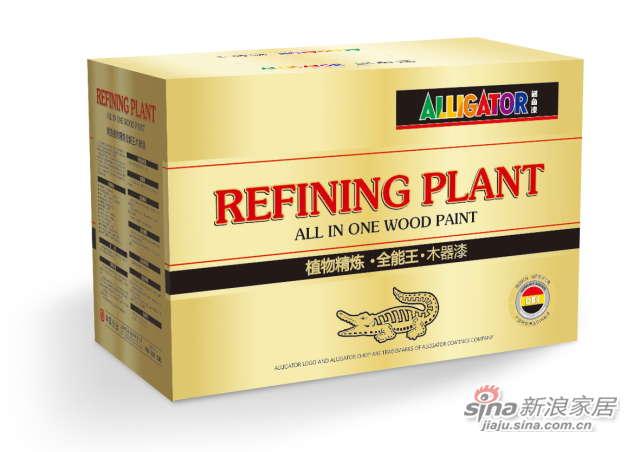 鳄鱼植物精炼全能王木器漆