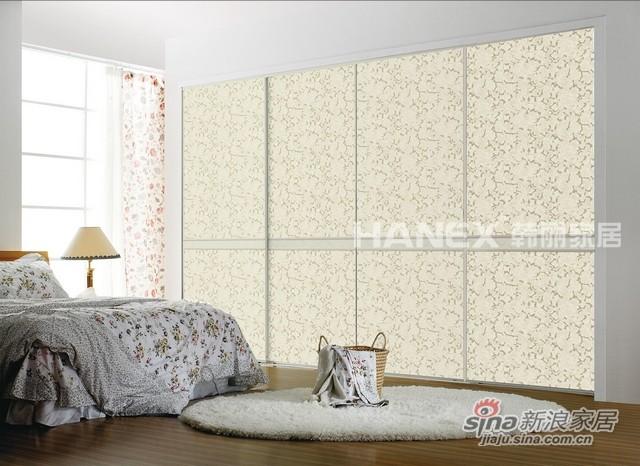 韩丽衣柜工艺玻璃系列-百花齐放-0
