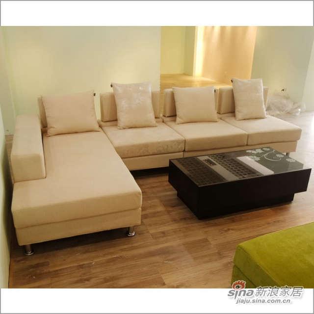 CS120 转角 沙发 客厅 时尚软件家具 佰宜家居