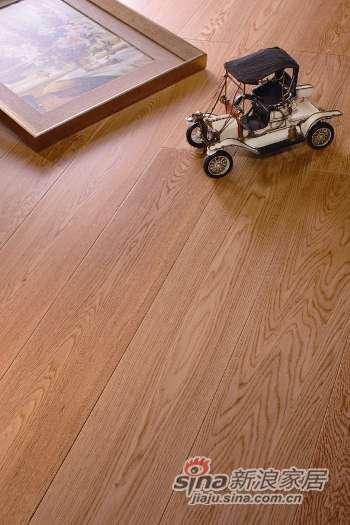 富得利三层实木复合地板栎木(欧洲橡木)原野旅者FC-0101-40-PL-0