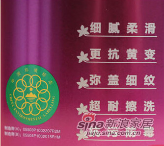 金装丝光优质墙面漆 -3