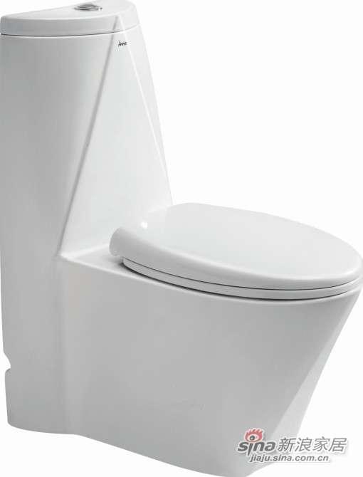 华盛卫浴连体座便器HTZ1006