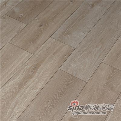 德合家ROOMS 强化地板RV802灰色橡木-1