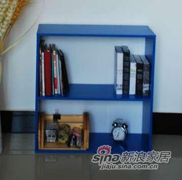 美好家新款韩式自由组合多档可调节书柜-0