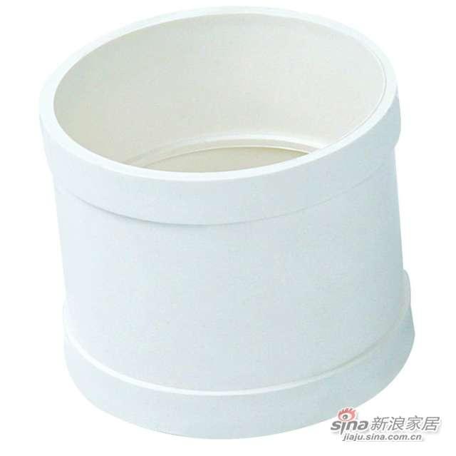 世丰PVC-U直接头 (管箍)-0