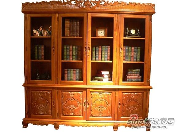 塞特维那 欧式书房 801巴布亚系列书房 Papua Office-0