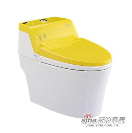 美加华卫浴MB-1880A(黄)智能坐便器