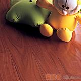 比嘉实木复合地板 雅舍系列:山纹柚木王(910*125*15mm)