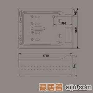 惠达-HD1107-DS按摩浴缸2
