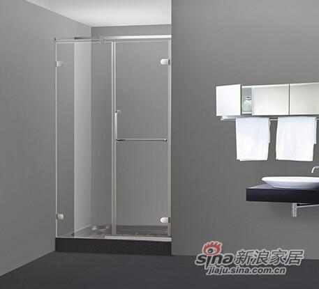 百德嘉卫浴淋浴屏风H433701