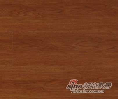 大卫地板中国红-印象红系列强化地板DW8007富贵柚木-0