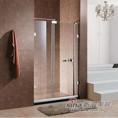 淋浴房无框推拉系列-L0205(L-R)