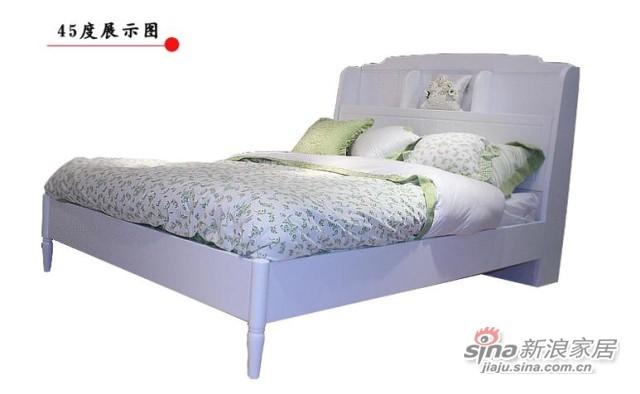 【新干线】板木单双人床1.2/1.5米-2