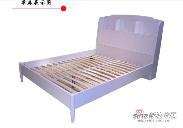 【新干线】板木单双人床1.2/1.5米-3