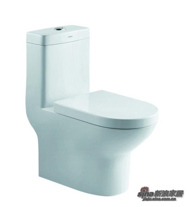 澳斯曼一体节水座便器AS1279(专利产品)-0