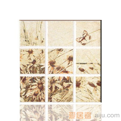 陶一郎-塞戈维亚系列-单片丝印花砖TW38003T2-1(300*300mm)1