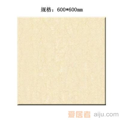 嘉俊-抛光砖[意大利米黄系列]CH6012(600*600MM)1