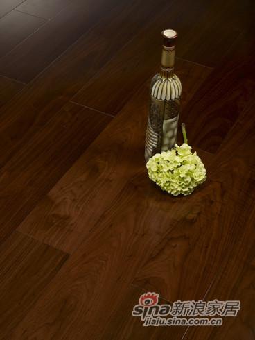【永吉地板】实木复合平面——爱丁堡 黑胡桃大板