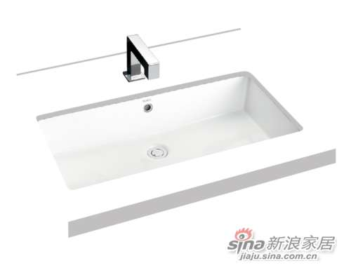 TOTO台下式洗脸盆LW595RB-0