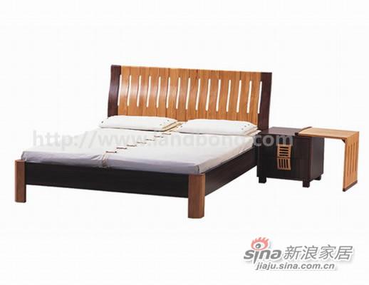 家家具K2137DJ(1.8M)双人床-A