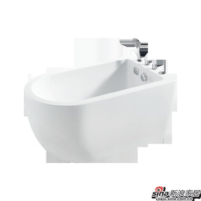 恒洁卫浴浴缸HLB606SNA1-125