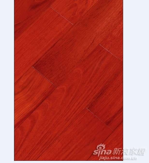 上臣孪叶苏木P4-G-1实木地板 -0