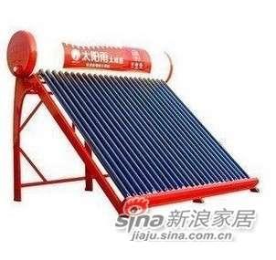 太阳雨太阳能热水器保热墙24支管190升+弗乐尔300无压力桶纯水机-0