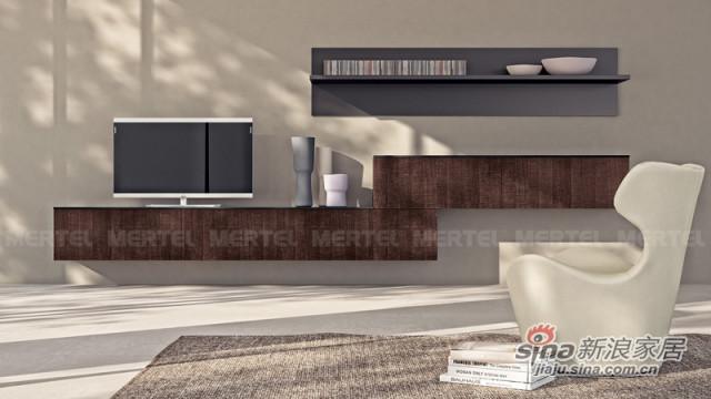 悬挂式多功能电视柜 客厅储物柜-0