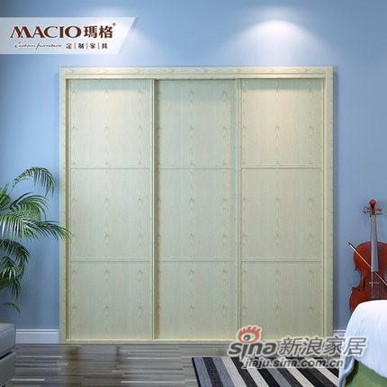 玛格定制家具MG0004定制衣柜-0