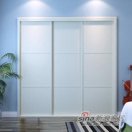 玛格定制家具MG0004定制衣柜-1