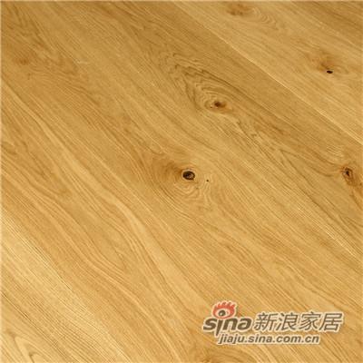 德合家BEFAG三层实木复合地板B55615单拼乡村橡木-1