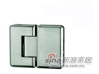 雅洁AG5410C-12(新)180度-玻璃门铰-尼龙镍-0