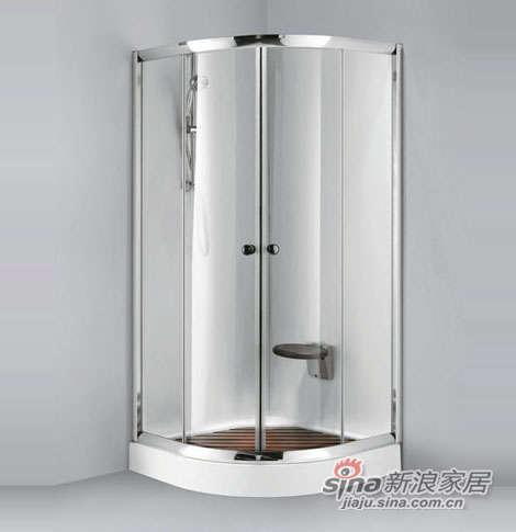 泰陶淋浴房TZ-121(扇型)-0