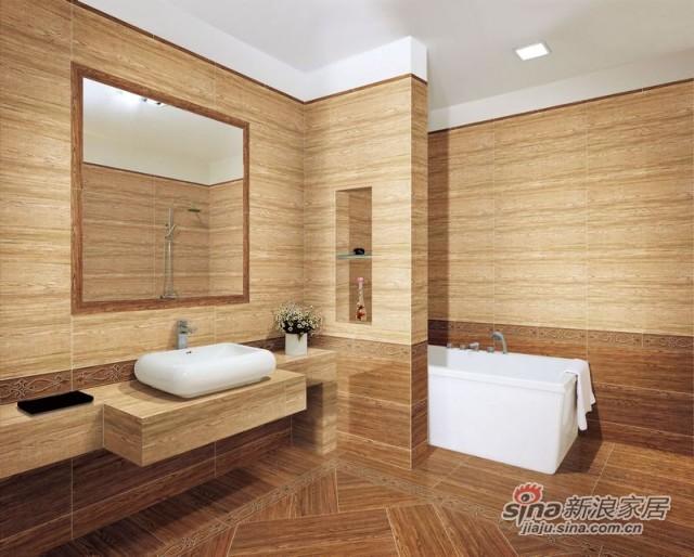 箭牌瓷砖北美枫木-1