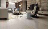 金桥地板三层实木复合地板无醛环保木地板锁扣 白玉象牙
